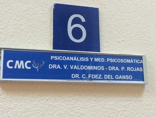 Consulta psisomática en Centro Médico Complutense de Alcalá de Henares.