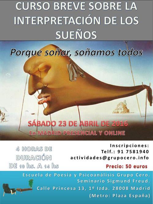CARTEL_CURSO_BREVE_SOBRE_LA_INTERPRETACIN_DE_LOS_SUEOS_abril_2016
